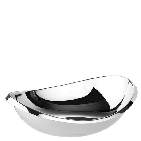 Sambonet Twist Oval bowl, 10 1/4 inch