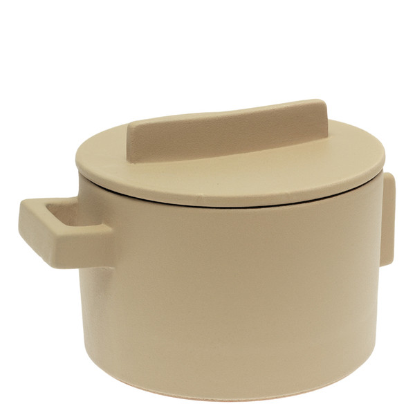 write a review for Sambonet Terra Cotto Saucepot, 2 handles with lid, Saffron