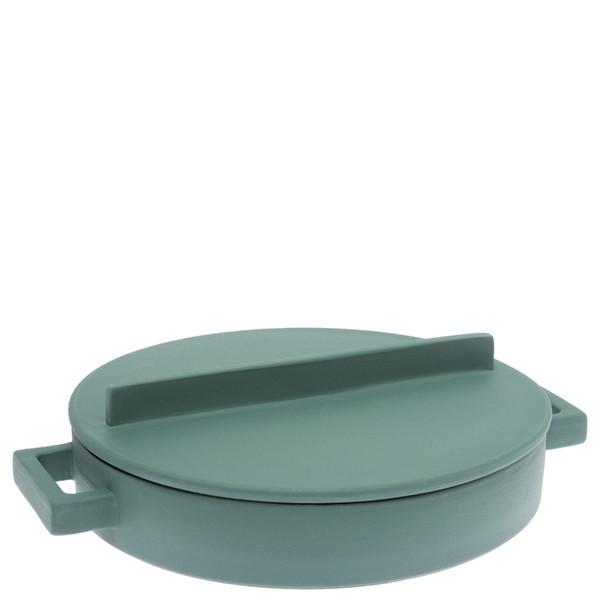 Sambonet Terra Cotto Saucepan, 2 handles with lid, Mint