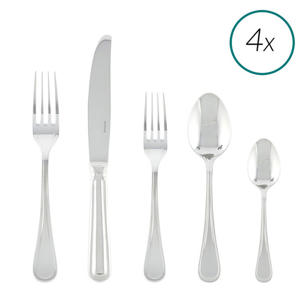 write a review for Contour 18/10 Stainless Steel 20 Pcs Place Setting