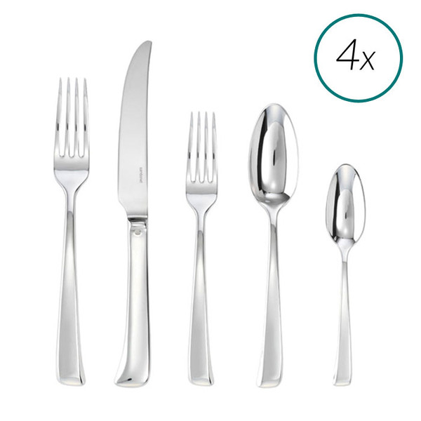 Imagine 18/10 Stainless Steel 20 Pcs Place Setting