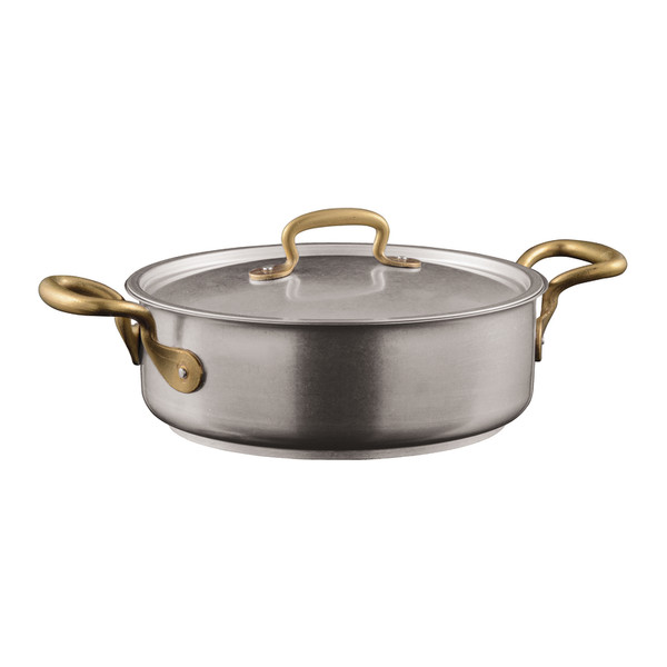 1965 Cookware 18/10 Stainless Steel Casserole Pot with Lid, 2 handles, 9 1/2 inch, 124 4/5 ounce