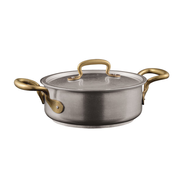 1965 Cookware 18/10 Stainless Steel Casserole Pot with Lid, 2 handles, 7 7/8 inch, 83 1/5 ounce