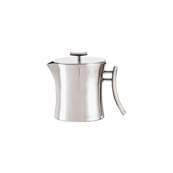 Bamboo 18/10 Stainless Steel Tea pot, 33 7/8 ounce
