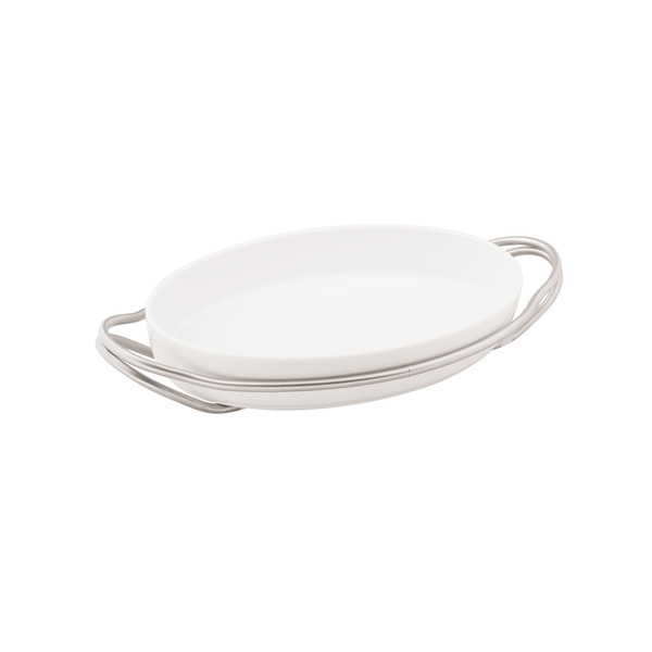 write a review for New Living Antico / Porcelain Rectangular porcelain dish set, 13 3/4 x 9 1/2 x 2 3/4 inch