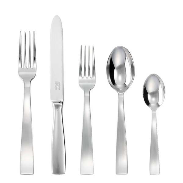 write a review for Gio Ponti 18/10 Stainless Steel 5 Pcs Place Setting (solid handle knife)