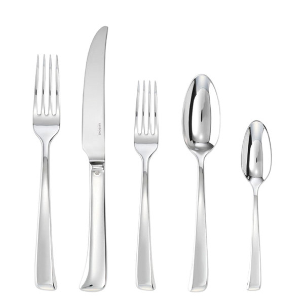 Imagine Silverplated 5 Pcs Place Setting (solid handle knife)