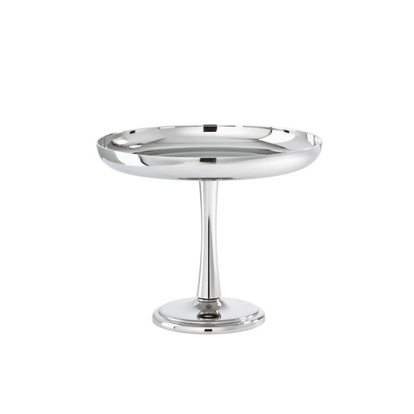Elite Stainless Steel Fruit / pastry stand, 5 3/8 x 4 3/8 inch