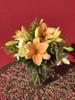 Mixed Lily Vase