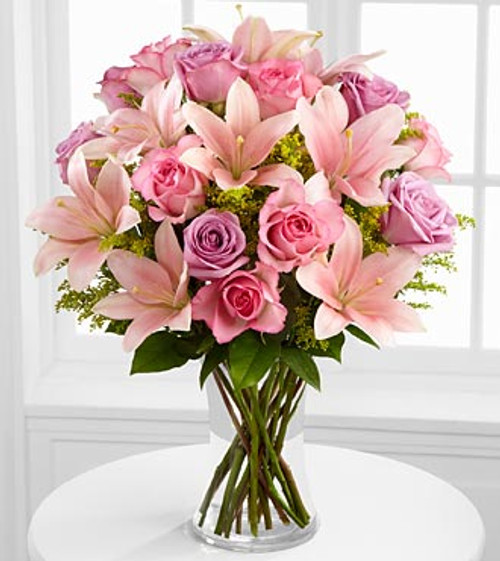 Farewell Too Soon Pink Bouquet