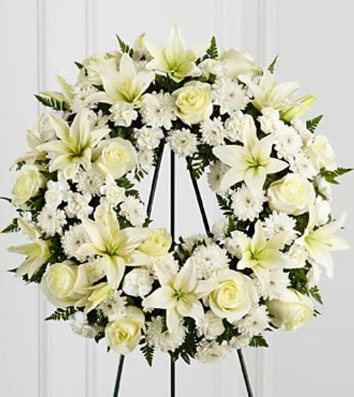 The Treasured Tribute Wreath