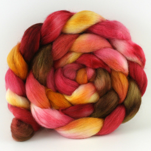 Polwarth Mohair Silk - Red Maple