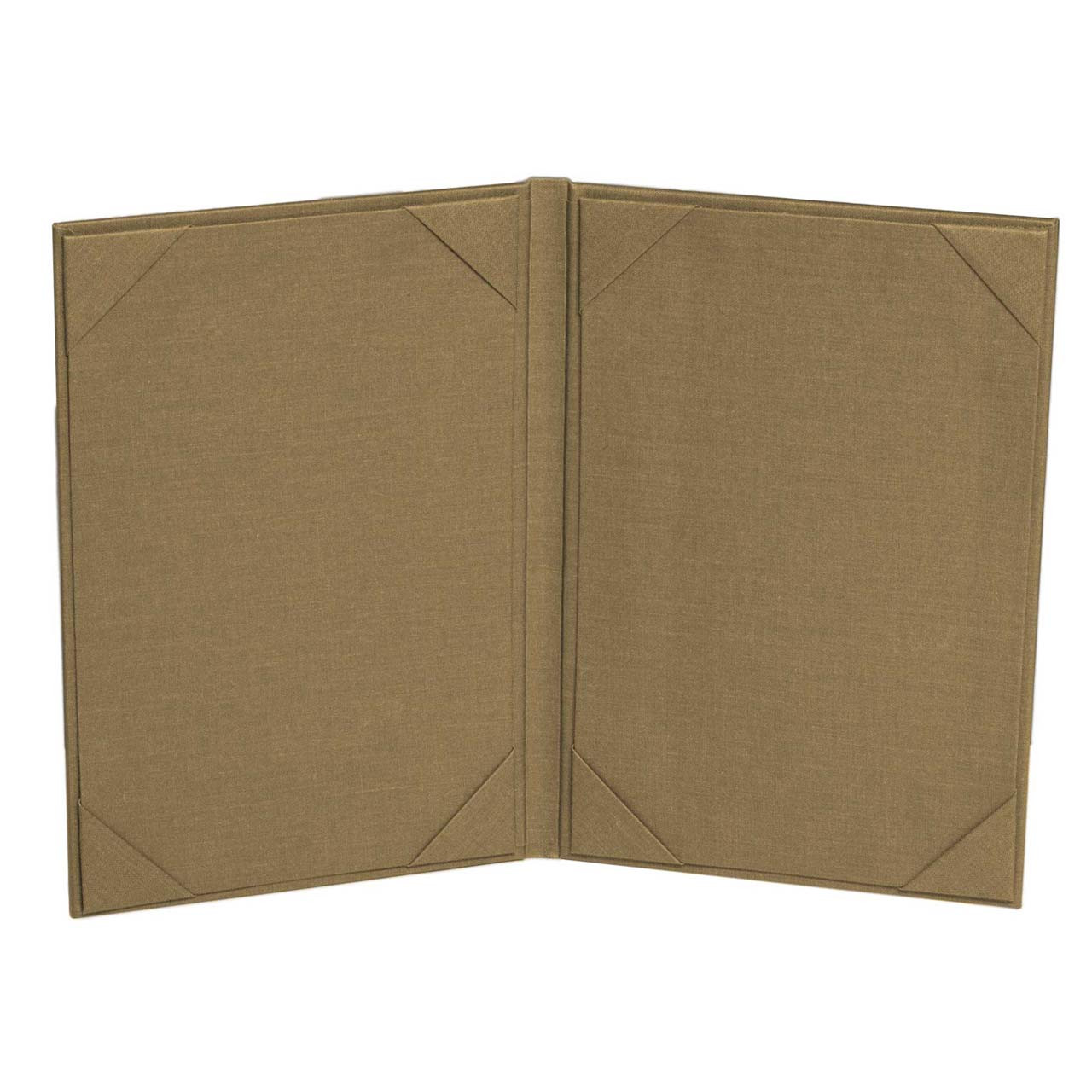 2 Panel Menu Cover - Inside View  Hickory Color