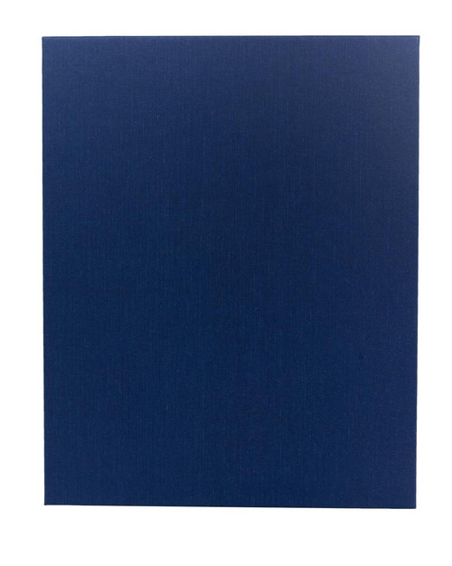 "8 1/2"" x 11"" Insert, 1-Panel Menu Holder Blue"