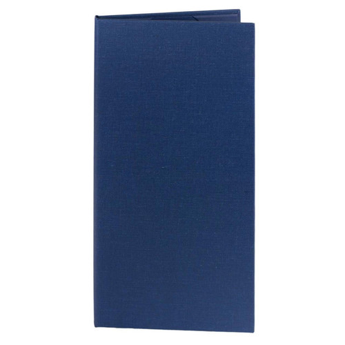 4.25 in. x 11 in. Insert, 2-Panel Menu Cover Blue