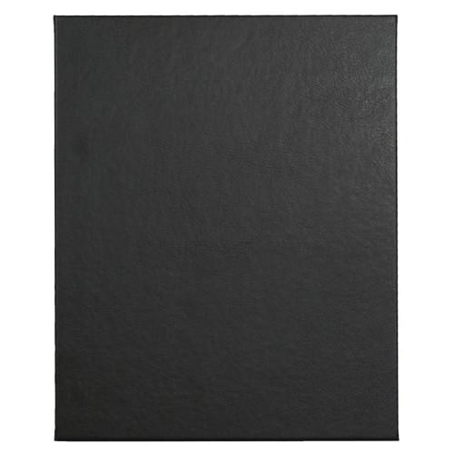 "8 1/2"" x 11"" Insert, 1-Panel Menu Holder Onyx Black"