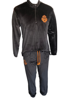 Men Velvet track suit- Comfort + warmth