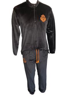 Men Velvet track suit- Comfort + warmth