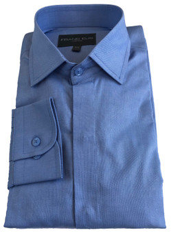 100% cotton Oxford Fabric -Concealed button Front