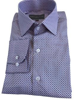 Men Shirt  -Fine Print