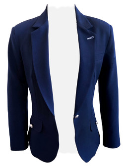 Single button Blazer- fully line -NAVY