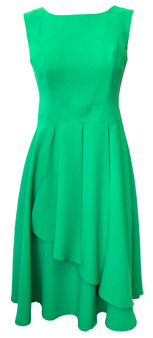 Luxury satin dress -Green