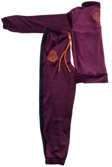 Unisex Kid Track suit -Purple potion