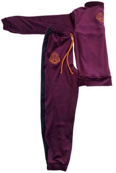 Unisex Kid Track suit -Purple potion
