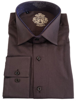 100% cotton satin with a sheen finish-  121 gms 60/1 Slim Fit