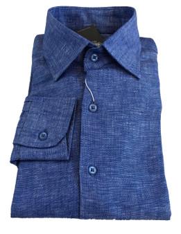 Men Shirt -100 % linen - Slim Fit -