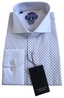 This shirt is 100% satin -single Cuffs