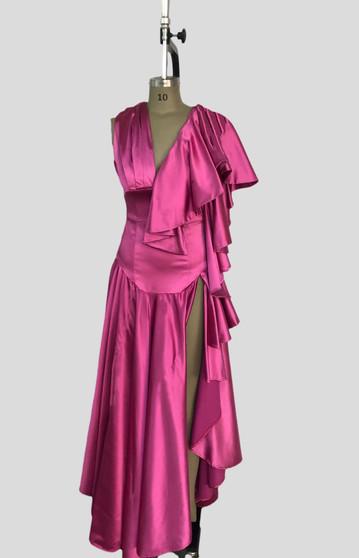 Frt slit Glamour Dress