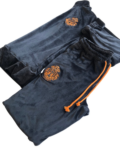 Black Velvet Women Track Suit