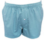 Men Boxer shorts- 100% cotton Double pipe-Turquoire