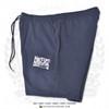 "Hispaniola Port & Trade Company | ""Haitian By Nature"" Navy White Premium Unisex Cotton Fleece Shorts"