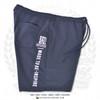 "Hispaniola Port & Trade Company   ""Haitian By Nature"" Navy White Premium Unisex Cotton Fleece Shorts"