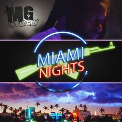 MG Da BadGuy - Miami Nights (Cover Art)