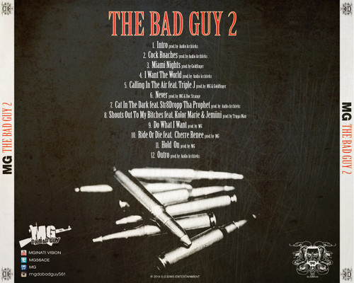 MG Da BadGuy - The Bad Guy 2 (Back Cover)
