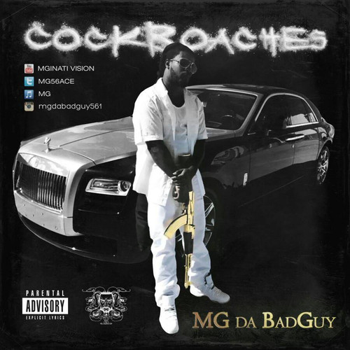 MG Da BadGuy | Cock Roaches Single Back Cover
