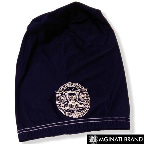 Mginati Brand | Dryfit Dreadcaps Navy&White