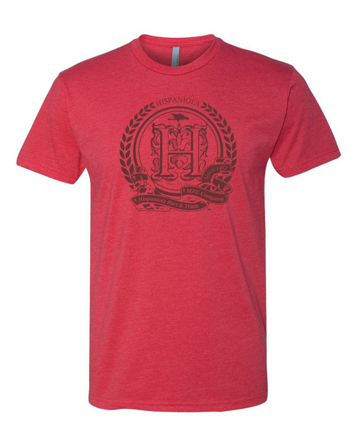 Hispaniola Port & Trade Company | Seal of Approval Unisex Vintage Red Crew
