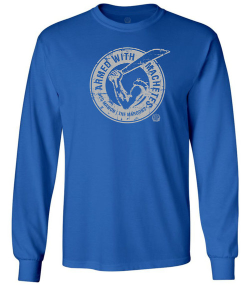Hispaniola Port & Trade Company AWM Since 1804 Long Sleeve Crew Royal
