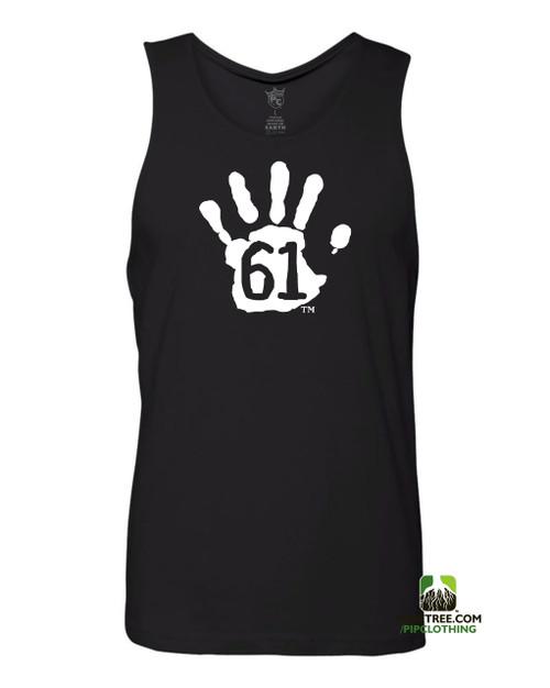 "Pipclothing - Rep Ur Hood ""Hand61"" Black-White Tank"