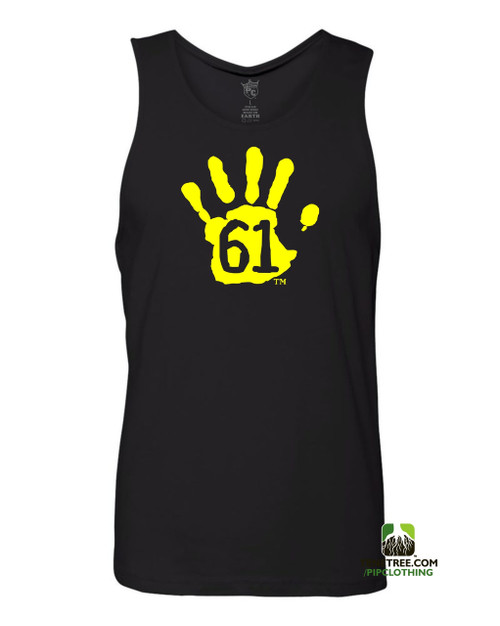 "Pipclothing - Rep Ur Hood ""Hand61"" Black-Lemon Tank"