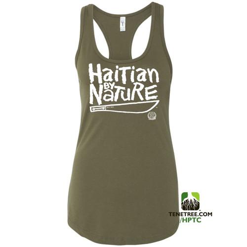 Hispaniola Port & Trade Company HBN Ladies Tank Army White