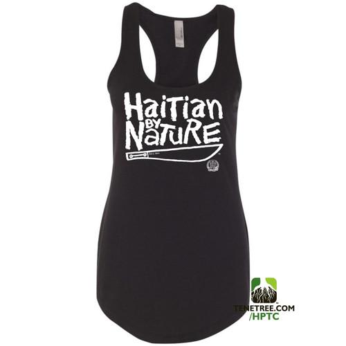 Hispaniola Port & Trade Company HBN Ladies Tank Black White