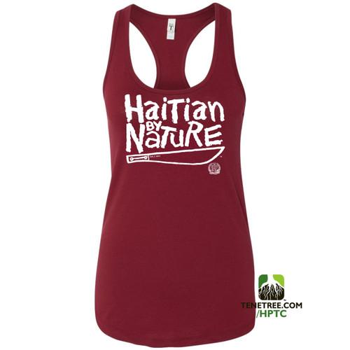 Hispaniola Port & Trade Company HBN Ladies Tank Cardinal White