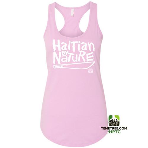 Hispaniola Port & Trade Company HBN Ladies Tank Lilac White