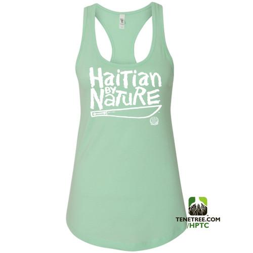 Hispaniola Port & Trade Company HBN Ladies Tank Mint White
