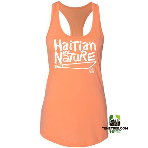 Hispaniola Port & Trade Company HBN Ladies Tank Orange White